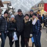 Ashley is second from the left with her family in Leavenworth, WA.